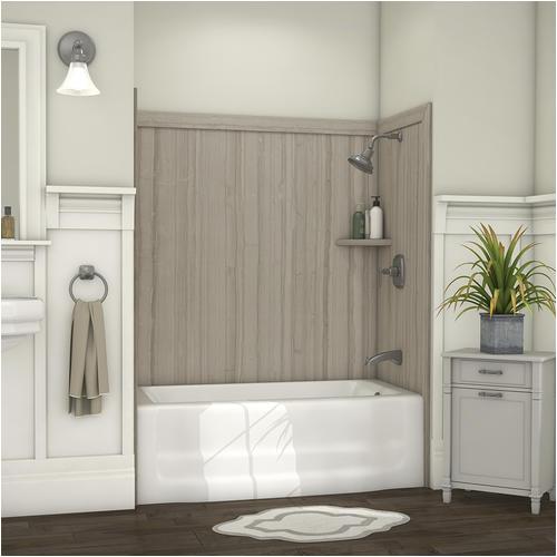 "Bathtub Surround Installation Estimate Flexstone Elite 60"" X 32"" Bathtub Surround at Menards"