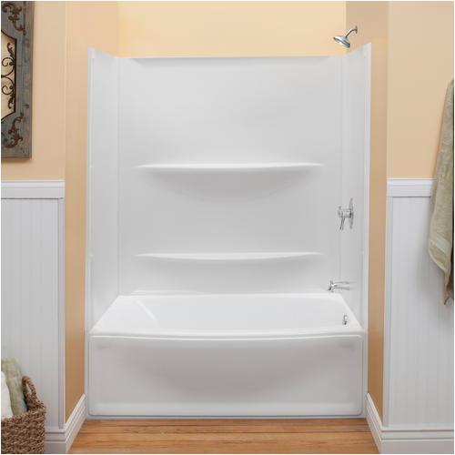 "Bathtub Surround Kits Menards Lyons Contour™ 60"" X 32"" Bathtub Wall Surround at Menards"