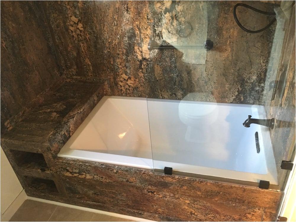 Bathtub Surround Near Me New Bathtub and Wall Surround with Glass Panel Yelp