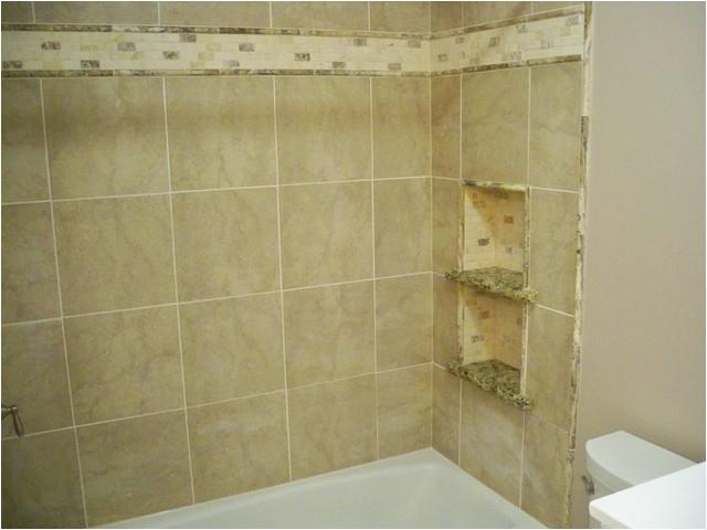 tub surround storage niches corner shelves traditional bathroom philadelphia