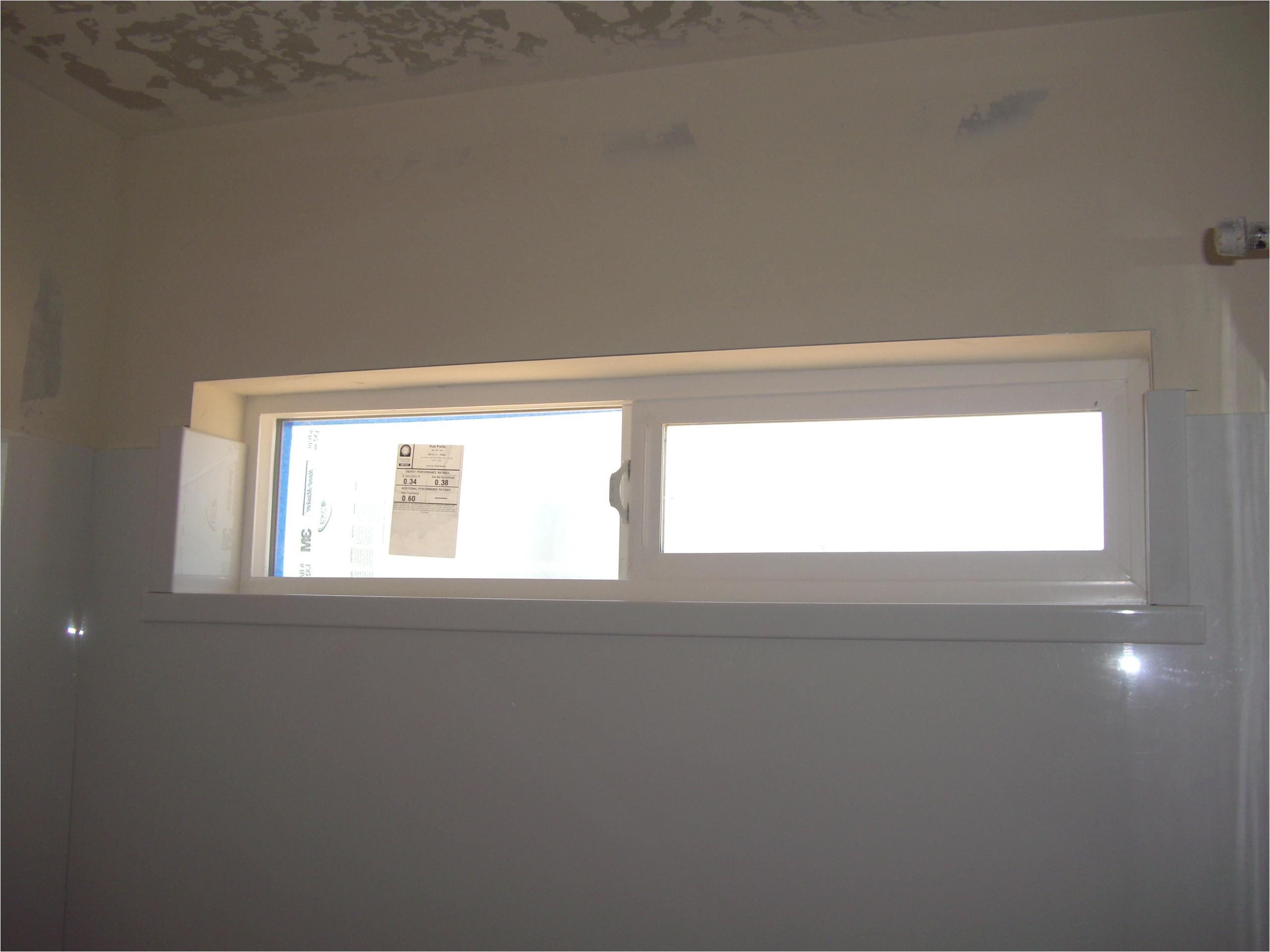 bathtub surround with window cut out ja86a