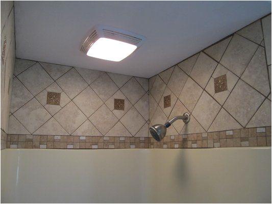 Bathtub Surround with Tile Above Tile Above Fiberglass Tub Shower Enclosure