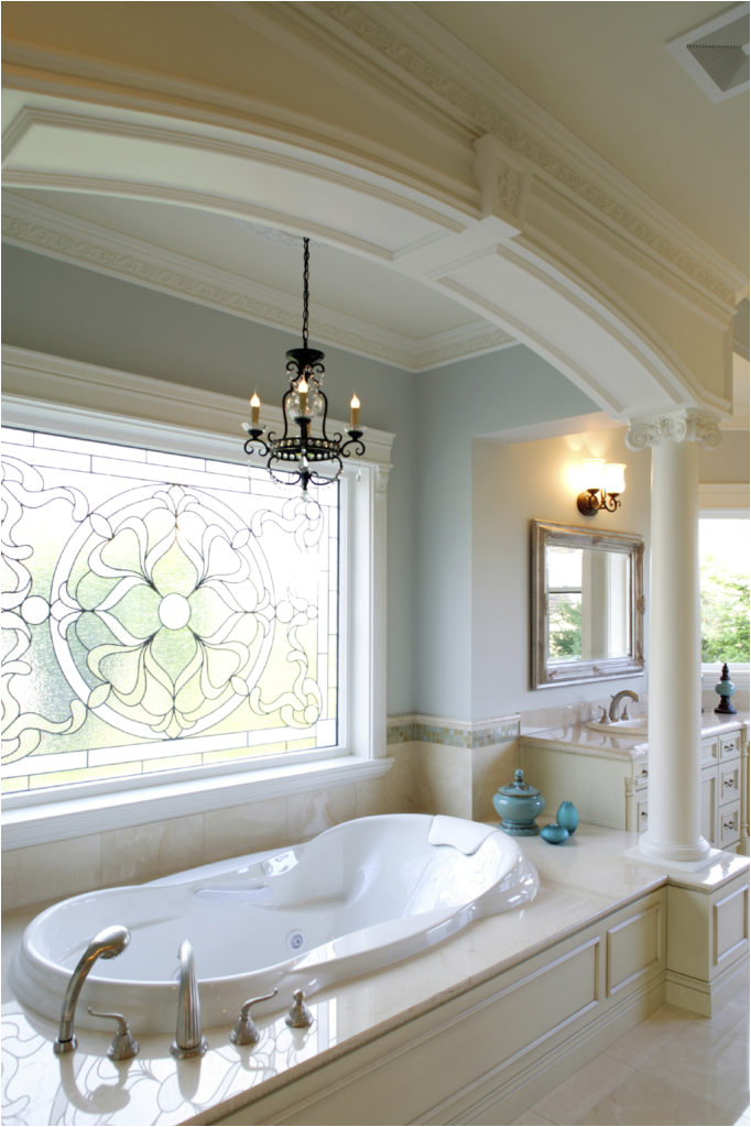 luxury white bathroom designs