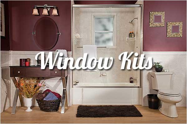 window kits baths showers