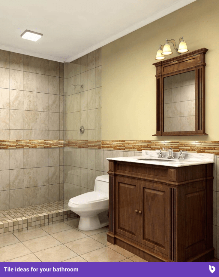Bathtub Tile Border Ideas Refresh Your Home with these Beautiful Bathroom Tile Ideas