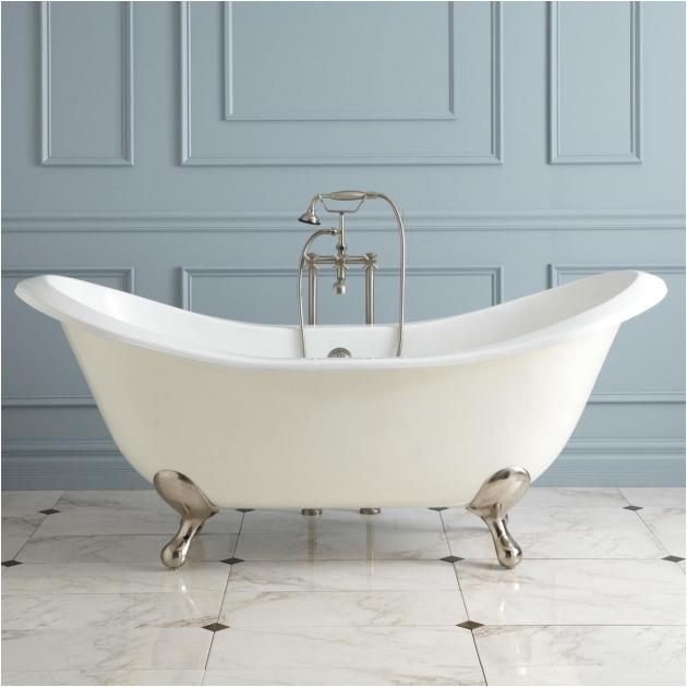 heated soaking tub