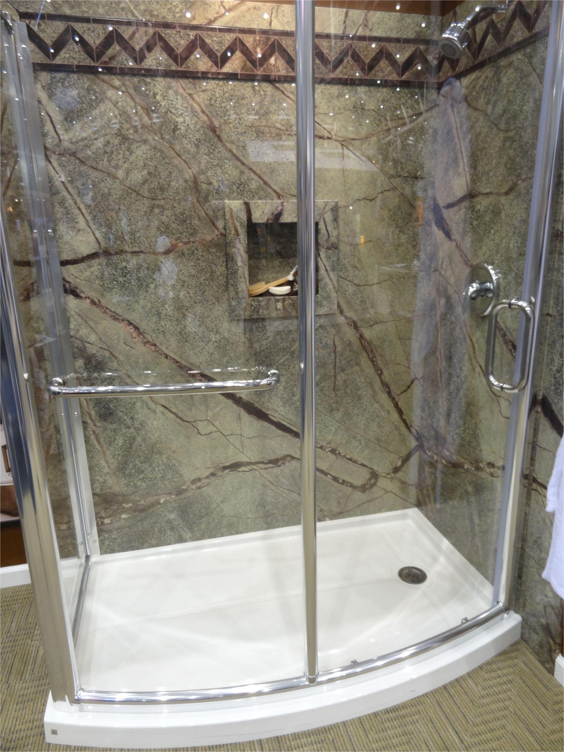 Bathtub Wall Enclosures Curved Glass Shower Enclosure for Bathtub to Shower