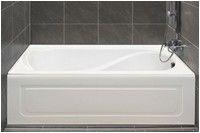 Bathtub Whirlpool Add On 5 Foot Alcove Tub
