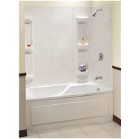 Bathtub with Surround Kit Maxx Utah 000 129 5 Piece Bathtub Wall Kit 59 61