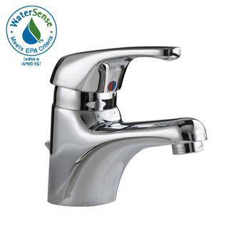 American Standard 1480 101 295 Seva Single Control Lavatory Faucet Satin Nickel Pictured in Chrome