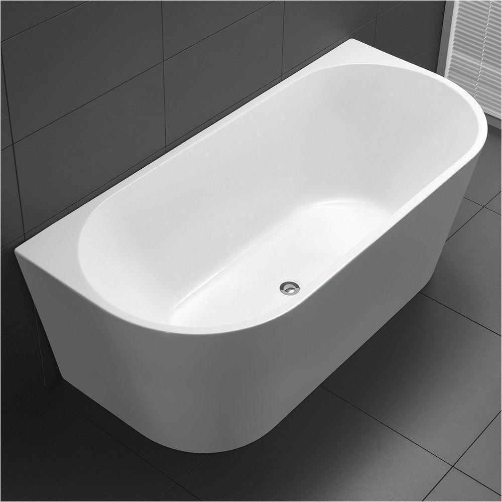 Bathtubs 1500 1500 X 750 Mm Back to Wall Freestanding Bath Tub
