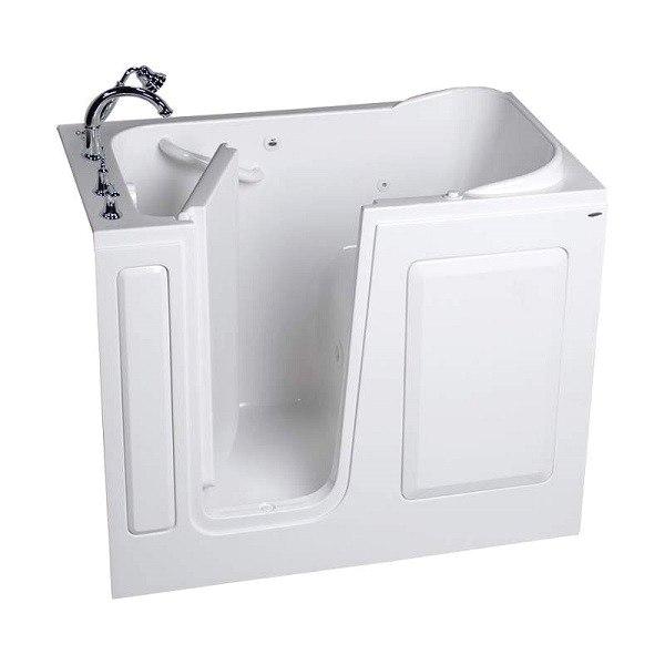 American Standard 2848 509 S Value Series Acrylic 28 x 48 Inch Walk In Bath Soaking Tub