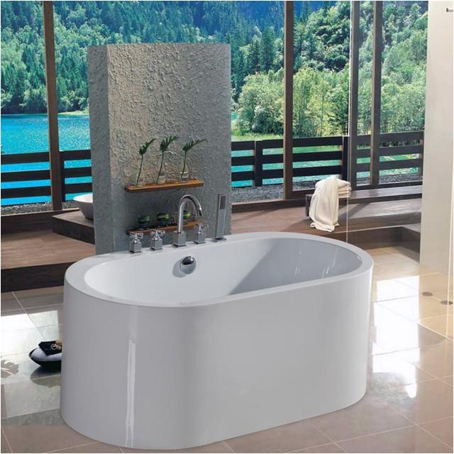 aquatica purescape 5475 inch freestanding tub purescape 169 multicolor puresc contemporary baths