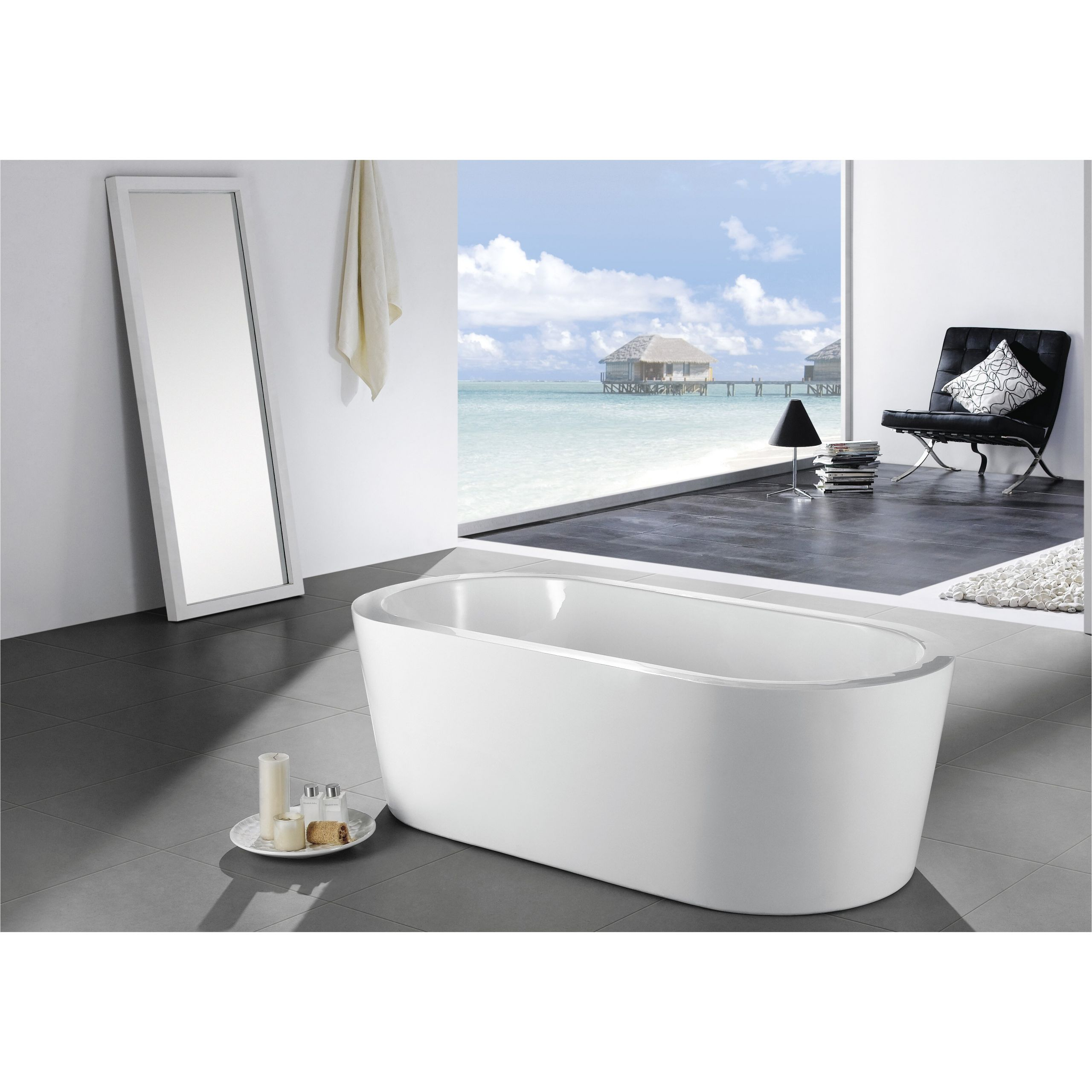 Eviva Ramo 58 x 29 Bathtub EVTB6201 59WH EVIE1203