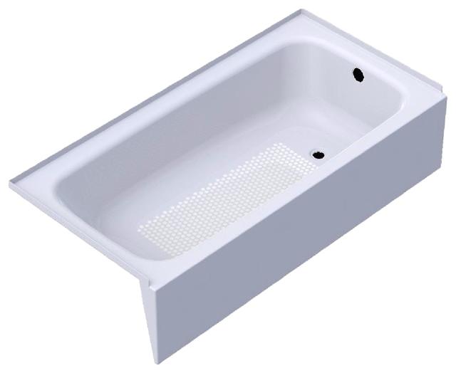 Kaldewei 155 Right Hand 60 X 30 Cayono Bathtub White bathtubs