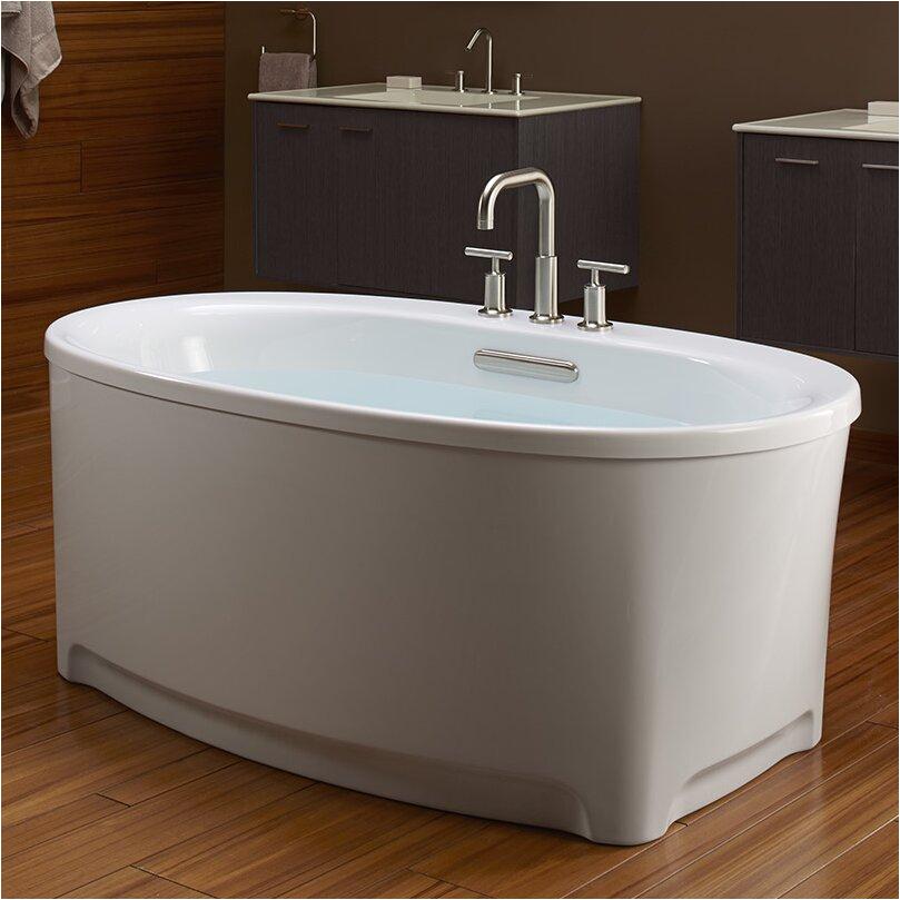 Underscore 60 X 36 Oval Freestanding Bath with Music K 5701 2M KOH