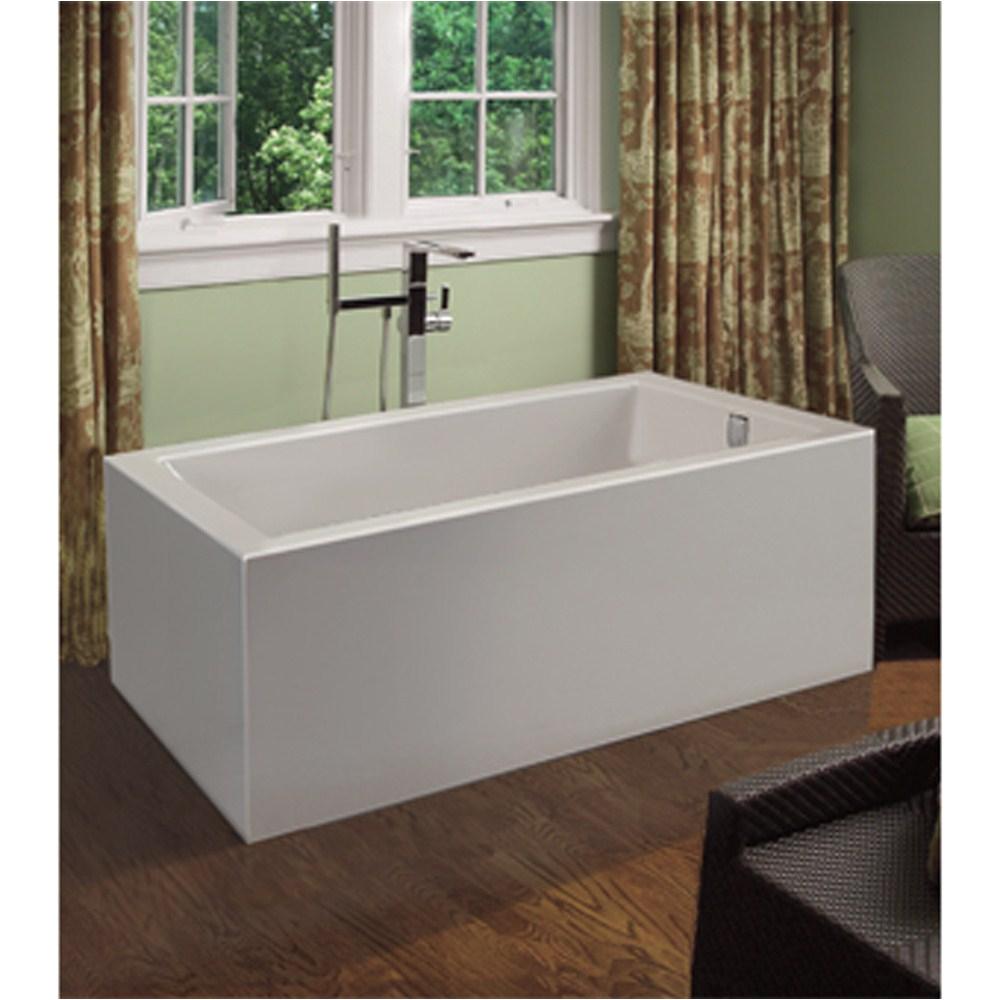 "Bathtubs 60 X 30 Mti andrea 15a Freestanding Sculpted Tub 60"" X 30"" X 21"