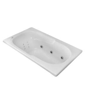 """Bathtubs 60 X 36 Carver Tubs Ar6036 36"""" X 60"""" Drop In Whirlpool Bathtub"""