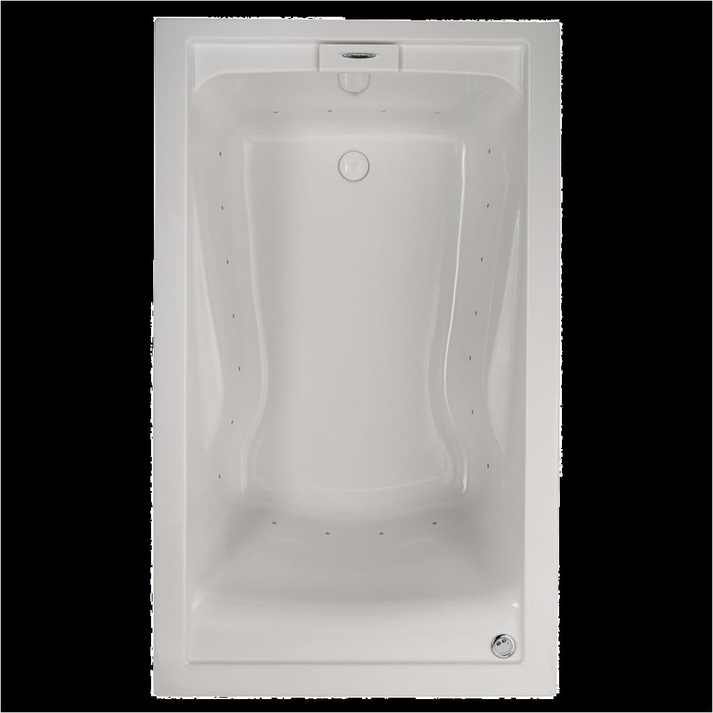 Bathtubs 60 X 36 Everclean 60×36 Inch Deep soak Bathtub American Standard
