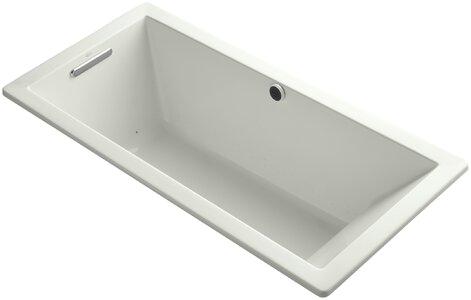 """Bathtubs 66 X 32 Kohler Underscore 66"""" X 32"""" Air Bathtub"""