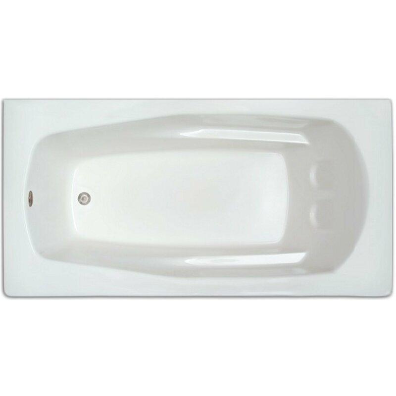 signature bath signature 66 x 32 bath tubs beou1071