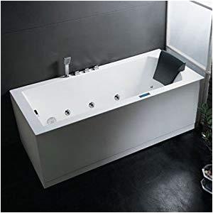"Bathtubs 70 Amazon Am154r70 70"" Platinum Whirlpool Freestanding"