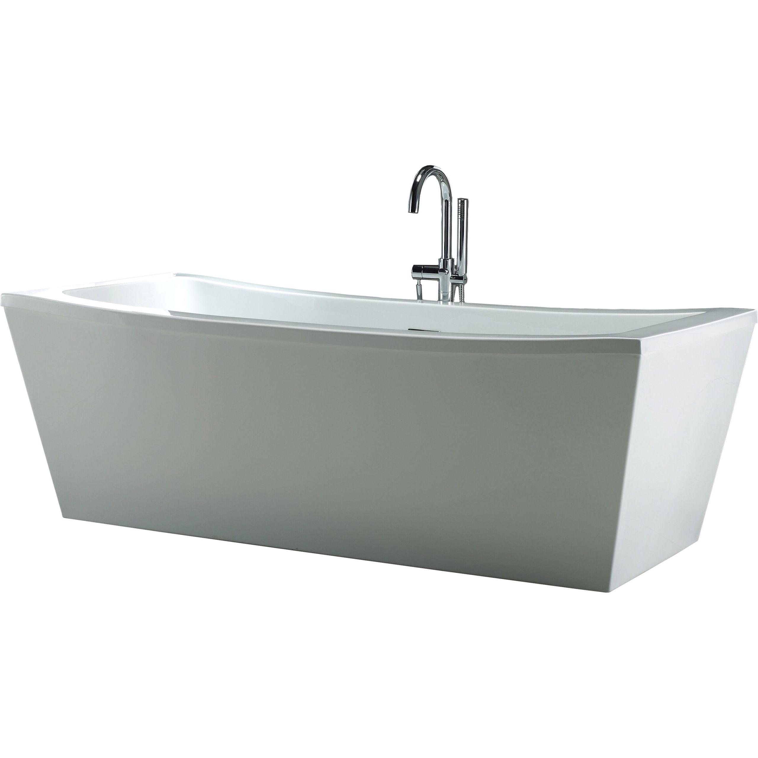 Ove Decors Terra 70 x 34 25 Soaking Bathtub XOV1154