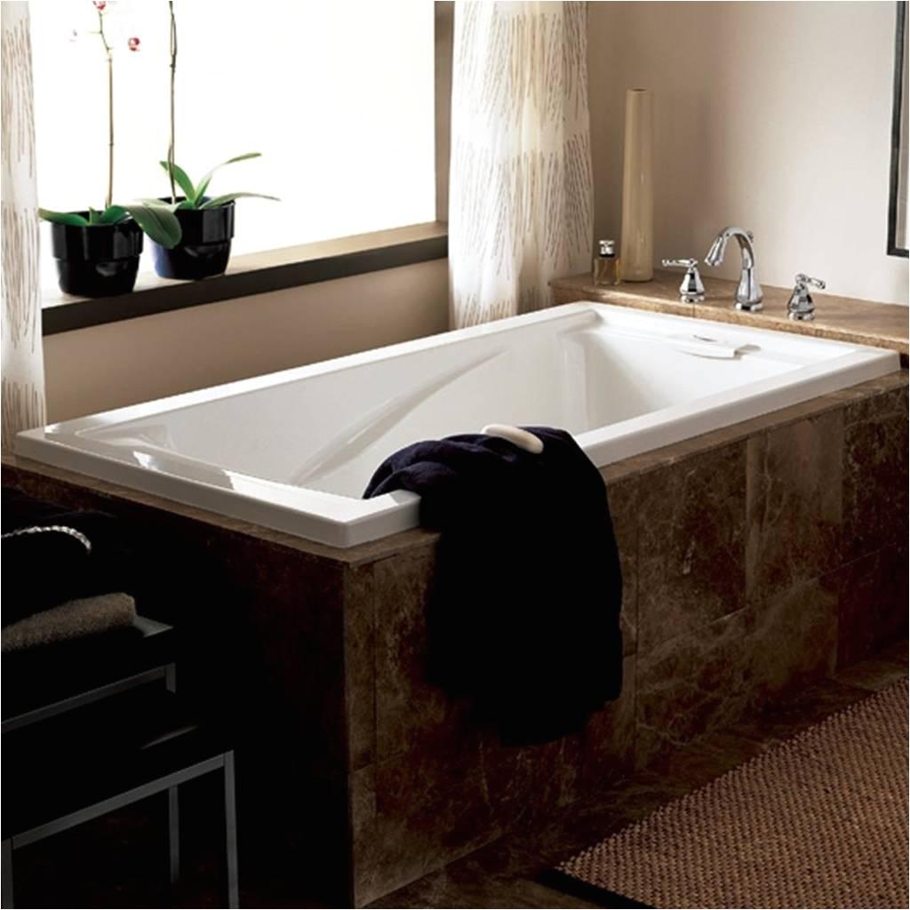 evolution 72 inch by 36 inch deep soak bathtub