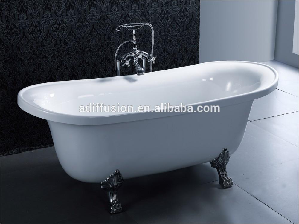 Bathtubs Acrylic Resin Thin Foot Bath Tub with Feet 177cmx79x60 Buy Claw Foot