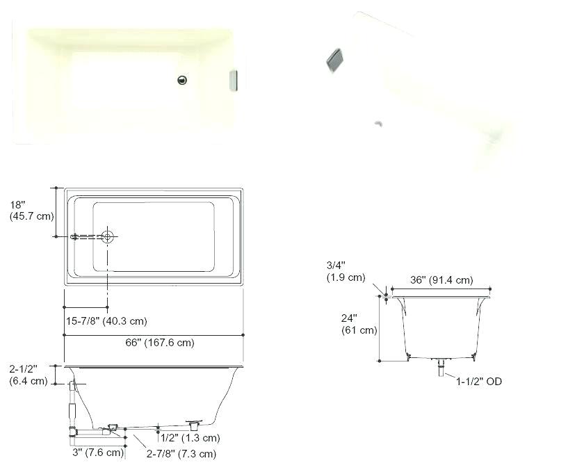 Bathtubs Acrylic Vs. Porcelain Acrylic Tubs Vs Porcelain – Dagazshop