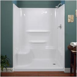 "Bathtubs and Surrounds Lyons Elite™ 60"" X 32"" Bathtub Wall Surround at Menards"