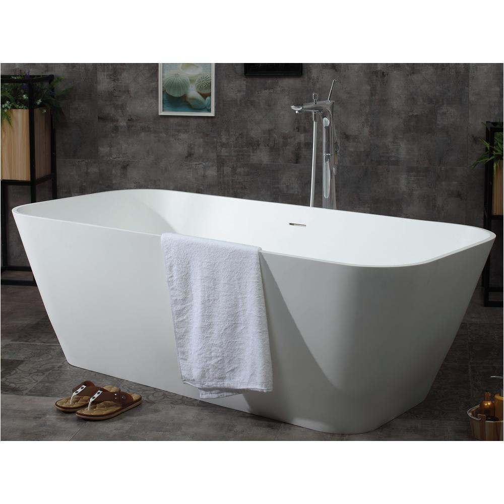 Bathtubs Brands Alfi Brand Ab9952 68 In Resin Flatbottom Bathtub In Matte