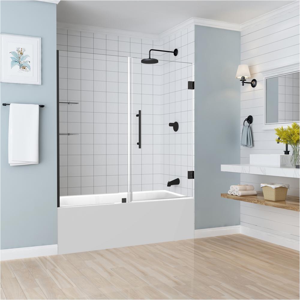 Bathtubs Doors B aston Belmore Gs 59 25 In to 60 25 In X 60 In Frameless