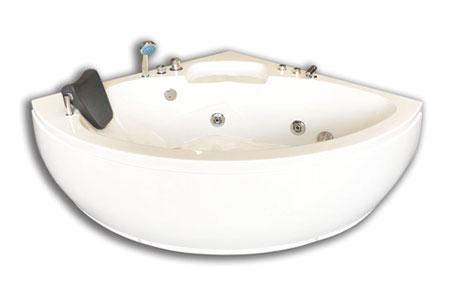 Bathtubs Dubai Dubai Whirlpool Corner Bathtub for 2 Persons 135 X 135