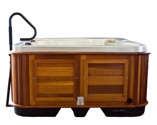 hand rails hot tubs