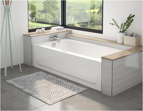 "Bathtubs Enameled Steel Briggs Pendant Plus 60"" X 30"" soaking Bathtub at Menards"