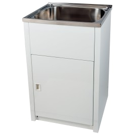 everhard project 45ss 45 litre standard laundry tub cabinet
