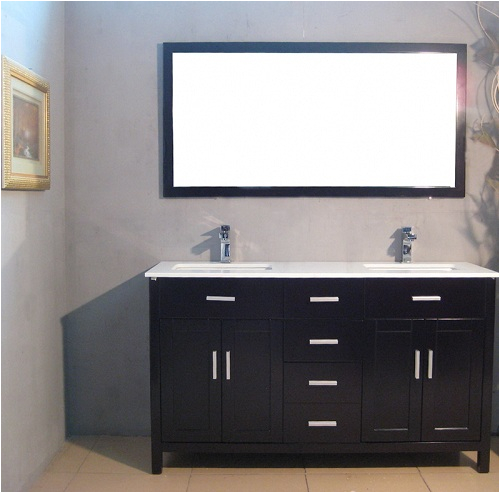 60 bathroom double vanity