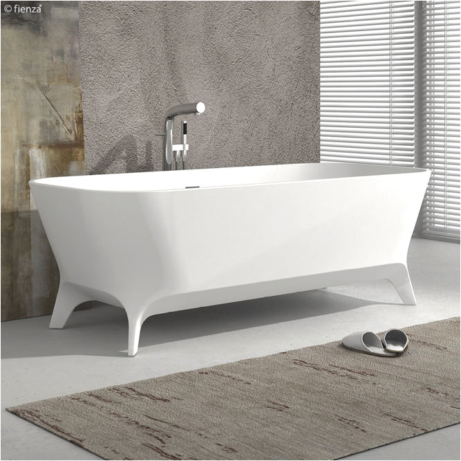 hampton 1600mm cast stone freestanding bath