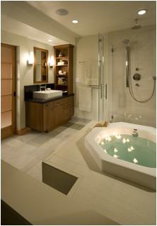 Master Bathroom with Soaking Tub asian bathroom san francisco