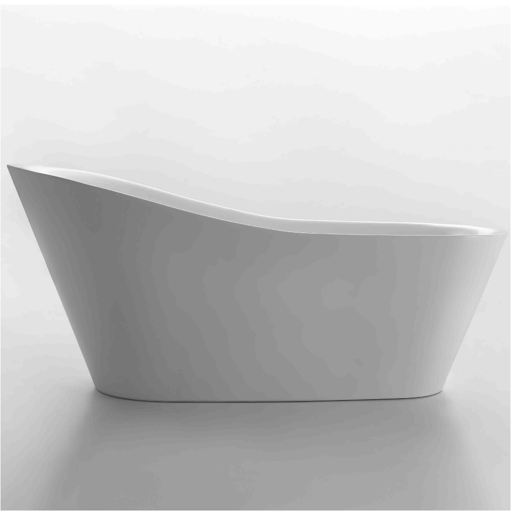 eviva emely acrylic tub 71″ free standing high end bathtub evtb1014 71wh