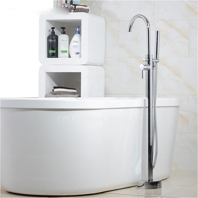 Bathtubs High End High End Floor Standing Rotatable Bathtub Faucet Shower System