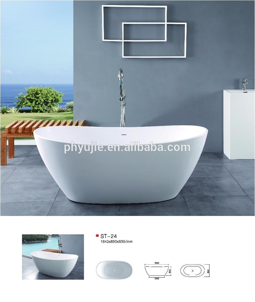 limestone freestanding bathtub high end resort