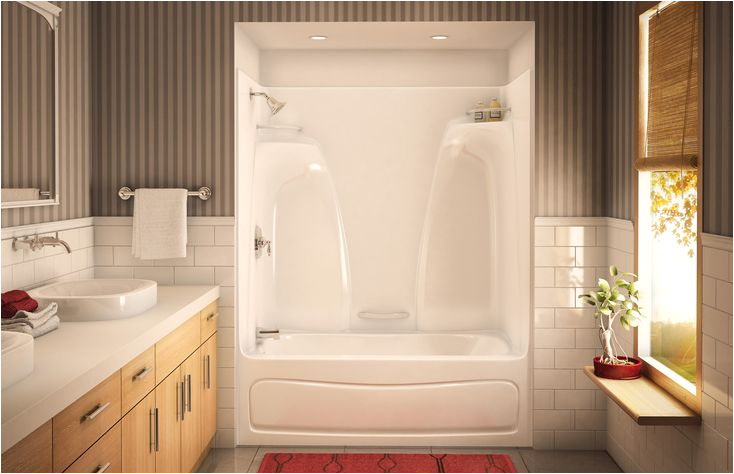 Bathtubs Large 3 Acts 3360 Alcove or Tub Showers Bathtub Aker by Maax
