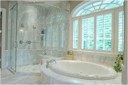 bathrooms with sunken tubs
