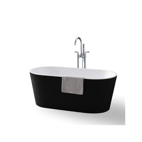 Bathtubs Large K Black & White Freestanding Bathtub Vu816 Style Bathroom