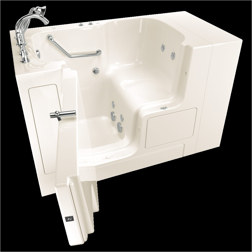 gelcoat value series 32x52 inch outward opening door walk in bathtub with whirlpool massage sy