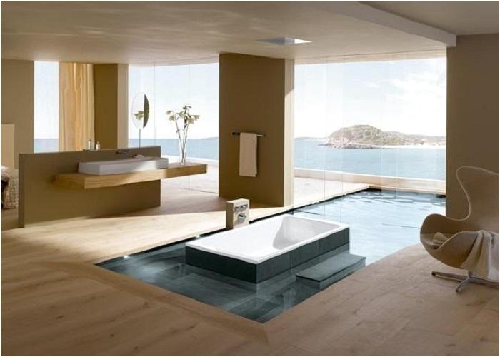luxury bathtub clogged drain
