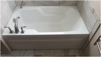 luxury alcove tub