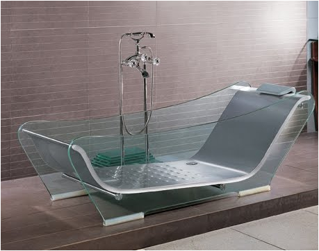 modern glass bathubs just keep ting